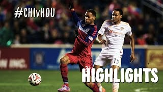 HIGHLIGHTS: Chicago Fire vs. Houston Dynamo | October 24, 2014