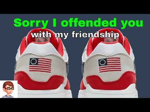 The Nike, Betsy Ross Flag Controversy
