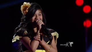 Sharon: Pequeña en tamaño, gran voz  | La Voz Kids 2016