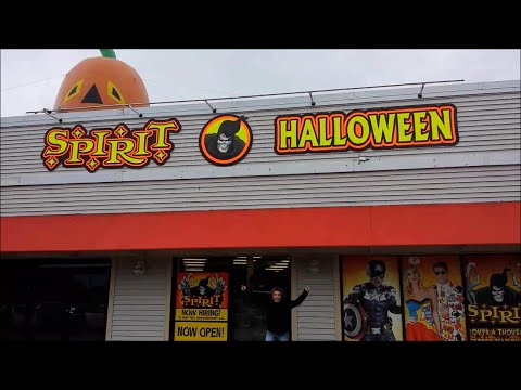 Q97.9 Shops For Costumes at Spirit of Halloween