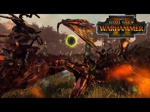 Sisters of Twilight VS Throt the Unclean   The Twisted & The Twilight DLC   Total War: Warhammer 2  