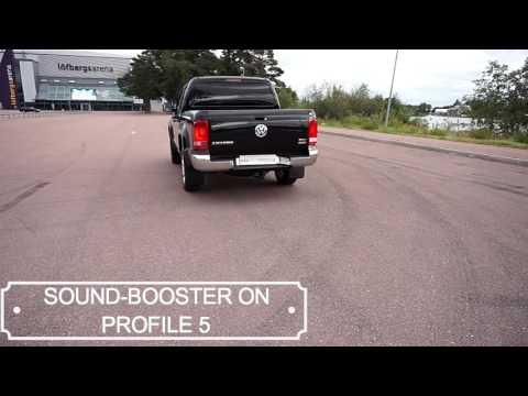 KUFATEC Sound-Booster VW Amarok 2016 demo