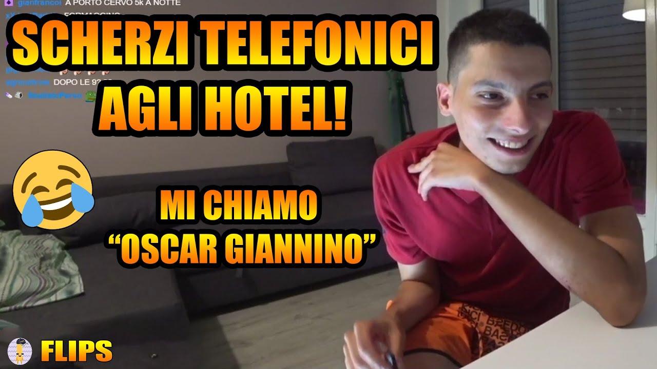 HOMYATOL FA SCHERZI TELEFONICI AGLI HOTEL | HOMYATOL LIVE
