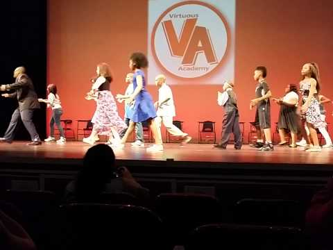 HAPPY students from Virtuous Academy at the Kelly Strayhorn Theater