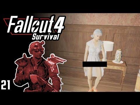 Fallout 4 Survival - Hunt for Emogene - Part 21