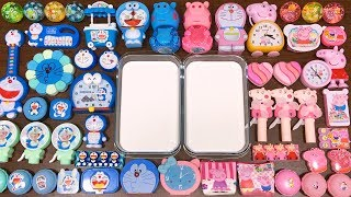 special-series-26-blue-doreamon-vs-pink-peppa-pig-mixing-random-things-into-glossy-slime