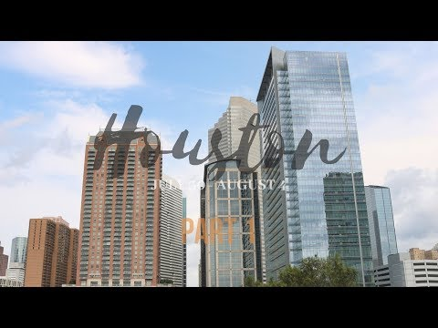 OUR TRIP TO HOUSTON 2018! (AG FINE ARTS) | VLOG PT. 1