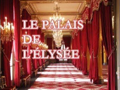 Paris - Palais de l'Élysée - la résidence officielle du président de la République.