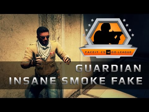 Guardian INSANE smoke fake, FACEIT 2015 League Qualifiers