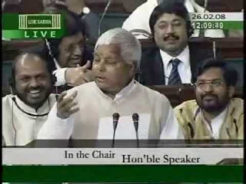 Lalu Prasad Yadav giving his speech in english | Lok Sabha Live