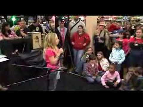 Marissa & Karly Hannah Montana Karaoke Talent Show