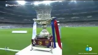 HALA MADRID |  HIMNO | fInal vs Barcelona 2017 2-0 |Supercopa de España