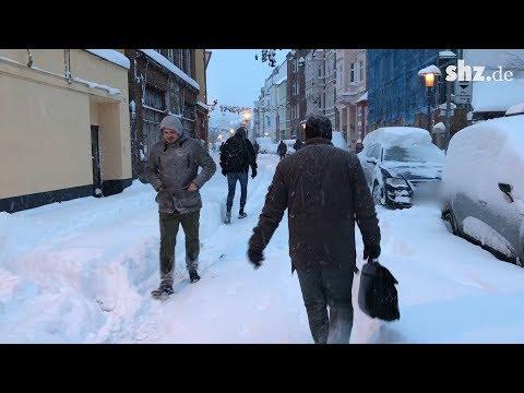 Gute Stimmung trotz Schnee-Chaos