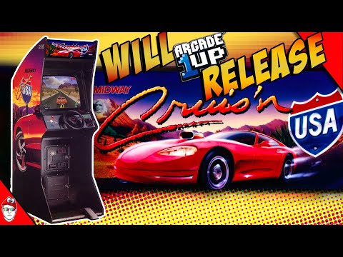 Will Arcade1up release Cruis'n USA  + Live Stream Chat from Console Kits