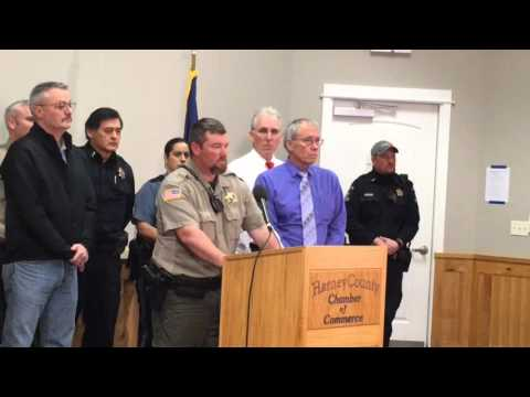 Harney County Sheriff Dave Ward Speaks publicly