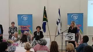 Jo Mallel Wizo  Mrs Ettie Buch speach 98 year old   13 November 2018
