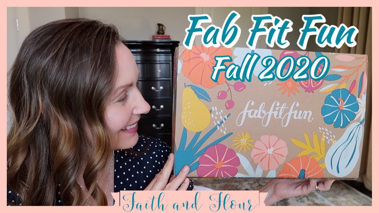 FabFitFun Fall 2020 Unboxing! | With Timestamps!