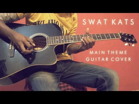 Swat Kats Main Theme (Season 1 & 2) - Acoustic Guitar Cover