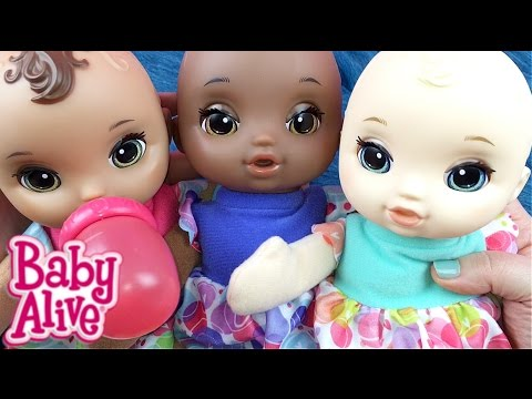 Baby Alive Lil Slumbers Doll Unboxing Brunette Youtube