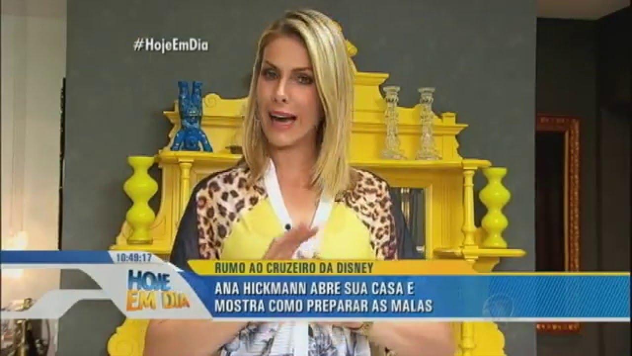 1e478b7e8c479 Ana Hickmann embarca com o filho no luxuoso Cruzeiro da Disney - YouTube