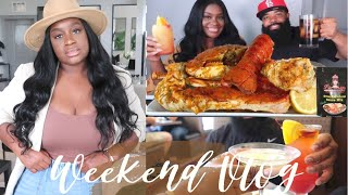 VLOG: BLOVESLIFE NEW SMACKALICIOUS SAUCE RECIPE + TARGET SHOP WITH ME + DATE NIGHT