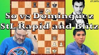 Current Events: So vs Dominguez StL Rapid and Blitz (2020)