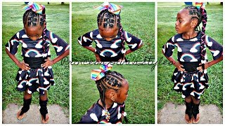 Girls Cute Protective Style | Children's Natural Hair Care