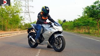 Suzuki Gixxer SF 250 Review Top Speed Braking Test Highway Ride #Bikes@Dinos