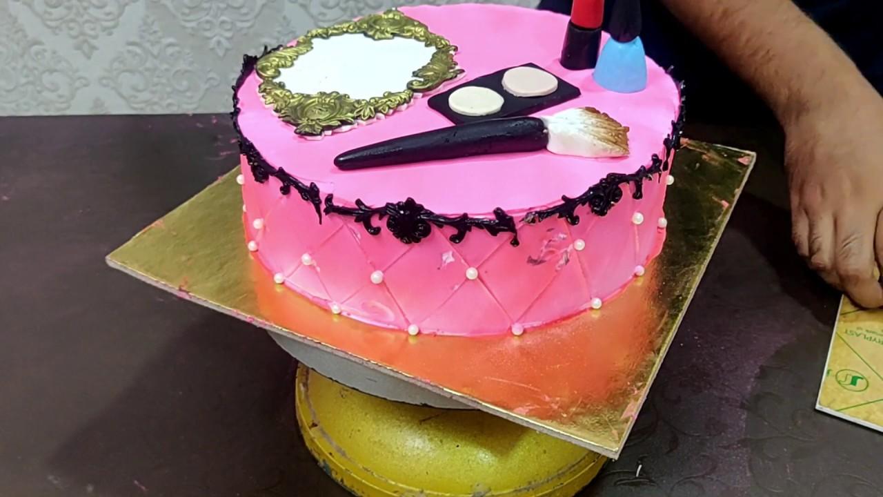 How To Make Makeup Kit Cake | Saubhaya