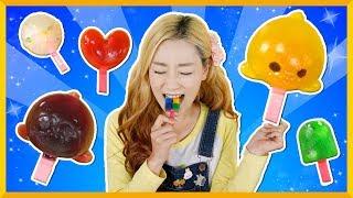 自製迷你可愛冰淇淋,專屬於小朋友們的食玩遊戲 | 愛麗和故事 EllieAndStory thumbnail