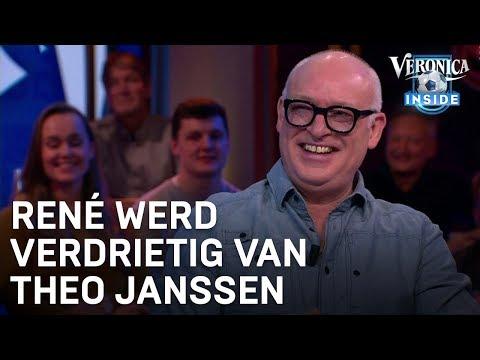 René werd verdrietig van Theo Janssen bij DWDD | VERONICA INSIDE