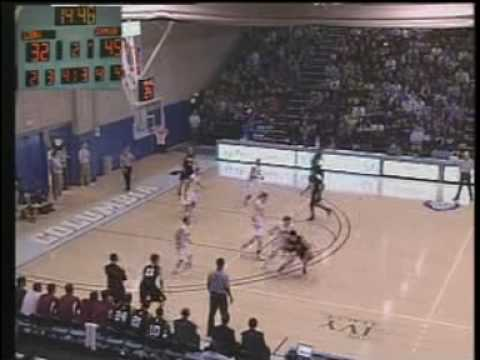 Harvard Crimson basketball Jeremy Lin assist to Keith Wright at Columbia 2010
