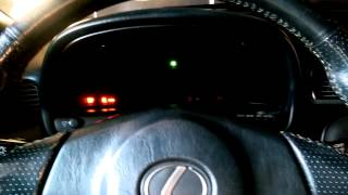 How To Reset Vsc Light On Lexus Ls430