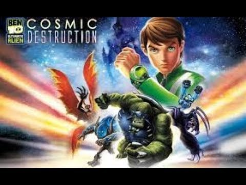 شرح تحميل لعبة Ben 10 Ultimate Alien Cosmic Destruction