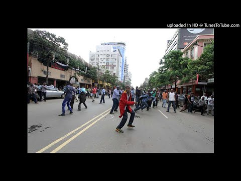 Nasa supporters defy Fred Matiang'i, protest in Nairobi County CBD
