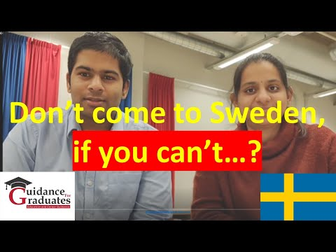 Study in Sweden | Students Experience |Challenges of Living in Sweden | Expenses, Savings, Campus