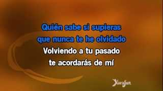 Karaoké La Cumparsita - Julio Iglesias *