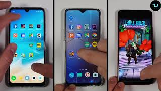 Snapdragon 675 vs Helio P60 vs P70 Speed test/Gaming PUBG/Redmi Note 7 Pro vs Umidigi F1 Realme U1
