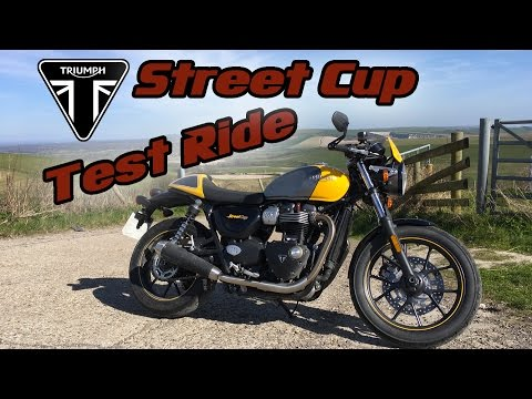 Triumph Street Cup Test Ride