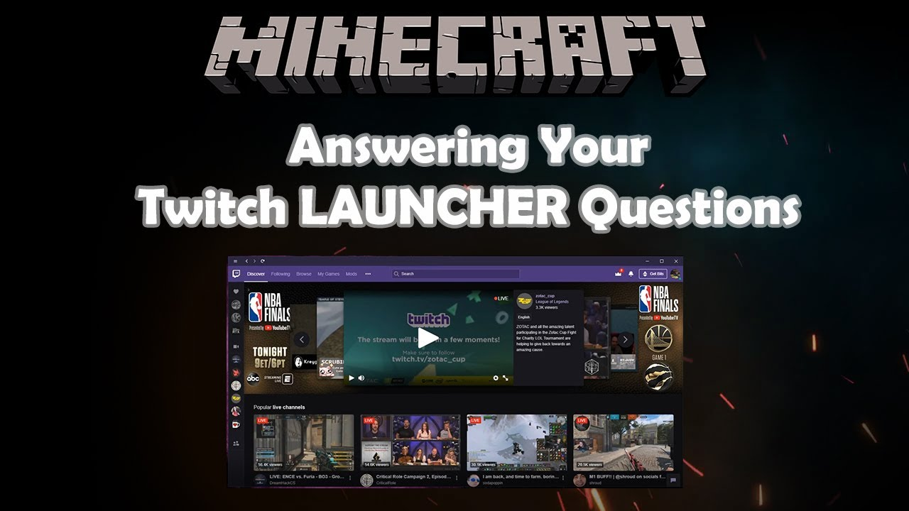 [UPDATE] Minecraft Twitch Mod Support and Troubleshooting