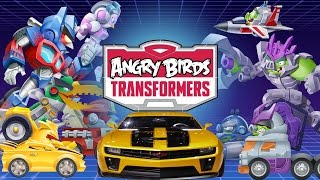 Angry Birds Transformers (by Rovio Entertainment Ltd) - iOS / Android - Walkthrough - Part 1
