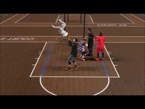 Squad Member Gets Heated! (NBA 2K17 MyPark Gameplay)