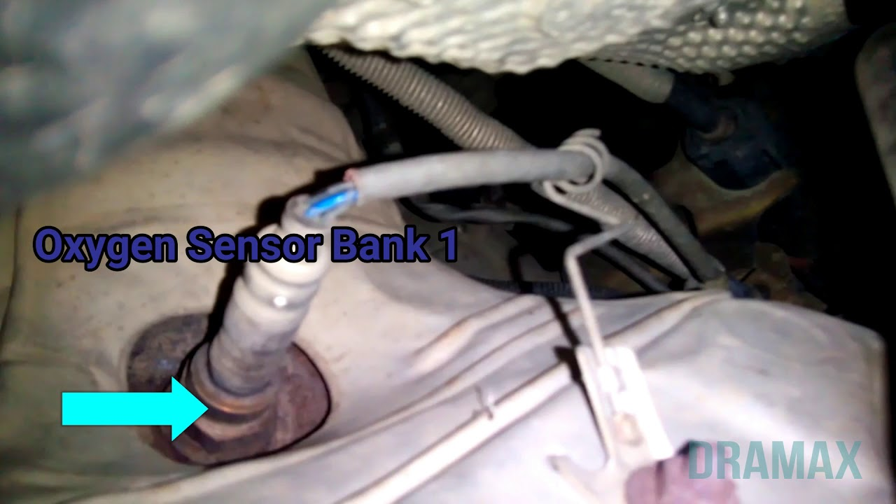 Ford Focus Mk2 Wiring Diagram Electric Motor Diagrams 2000 2009 Oxygen Sensor Bank 1 Location Youtube