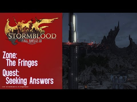 FFXIV Stormblood Quest: The Fringes - Seeking Answers