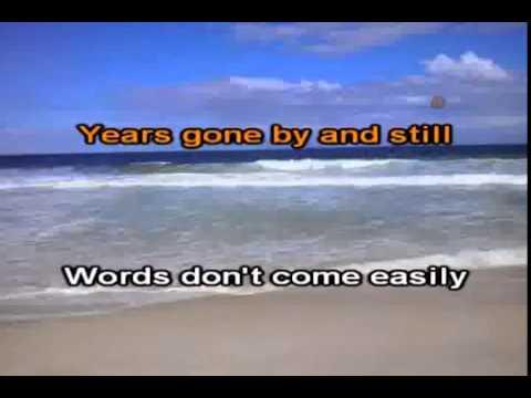 baby can i hold you Tracy Chapman karaoke