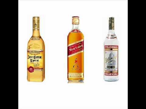 tequila whisky vodka trio brovana