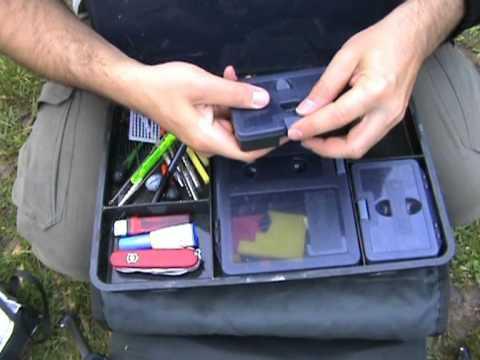 Wychwood Carp Angler Fishing Tackle Box Green