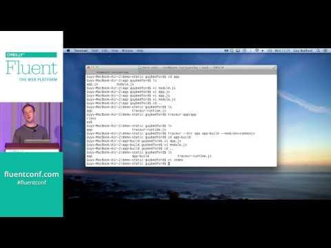 Practical Workflows for ES6 Modules, Fluent 2014
