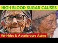 🍬 How High Blood Sugar Causes Wrinkles & Accelerates Aging