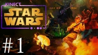 Kinect Star Wars - Walkthrough - Part 1 -With Camera